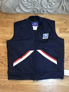 POSTAL CARRIER VEST-full zip by Spiewak new size L Large-Long New
