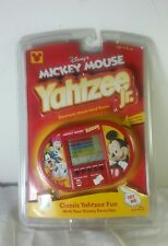 NEW Yahtzee Jr Disney's Mickey Mouse Electronic Handheld Game Hasbro SEALED 2000