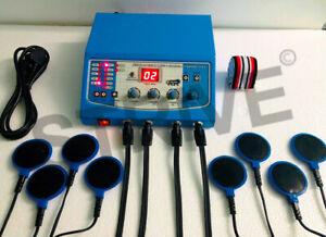Interferential Physical Therapy Machine IFT Physiotherapy Unit Electrotherapy