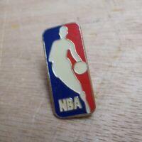NBA Vintage Metal and Enamel Pin Badge Logo Red White Blue Basketball inc UK P+P