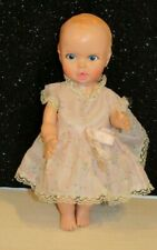 New ListingThe Gerber Baby Doll 1972 Vintage 10� Dressed and Cute Drink & Wet Doll
