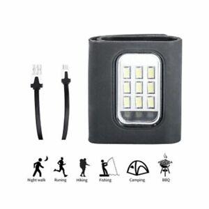LED COB Running Chest Lamp Safety Light Walking Warning Night Light USB Charging