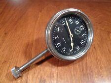 Vintage Early Elgin 8 Day Dash Car Dash Automobile Long Stemmed Clock, USA Rare