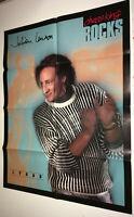 JULIAN LENNON Vintage 1980s Promo Advertising Poster Chess King Clothing Rocks