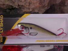 """Lindy 2.5"""" Wally Shad (Cast/Troll) Lws246 Color Wounded Olive for Walleye/Bass"""