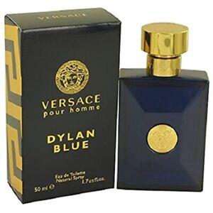 Versace Dylan Blue 1.7 oz / 50 ml  Eau de Toilette EDT Spray for Men NEW SEALED