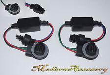 2 x 3157 Socket Warning Error Canceller Error Free Load Resistor LED Decoder