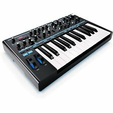 Novation Bass Station II Analog MIDI USB Synthesizer Mono 25-Key Synth USED