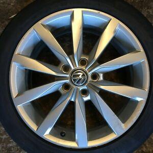 """Genuine Volkswagen VW Golf GT Mk7 17"""" INCH Dijon Alloy Wheel 5G0601025BH 225 45"""