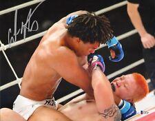 Carlos Newton Signed 11x14 Photo BAS COA UFC Pride FC Bushido 5 2004 Ryo Chonan