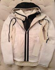 NWT Lululemon Run Bundle Up Jacket ~ Sz 4 ~ Reflective White/Polar Cream
