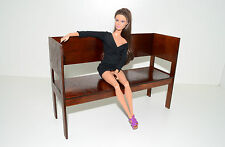 Sofa Divan for dolls 1:6 12 inch Barbie FR Furniture