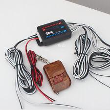 8X4LED Wireless Control Car Police Flash Strobe Emergency Warning Light Red&Whit
