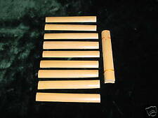 10 pieces Bassoon Reed Canes ( Gouged cane )