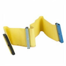 Yellow IDE DATA 80 pin IDE hard disk line cd driver line IDE cable ATA 133 line