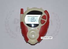 DIGIMON DIGIVICE 02 RED WHITE GROW IN DARK  D-3 US VER 1.0 ONLY ONE CLEAN BODY