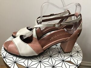 New Neosens Pink Leather Shoes Size 4 Eur 37 Rrp £89