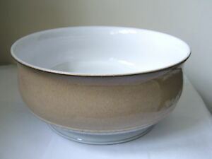 DENBY - SEVILLE - FOOTED ROUND SERVING / FRUIT BOWL - 2ND QUALITY - GOOD USED*id