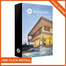 Artlantis 2020 v9.0 ☑ Pre-Activated ☑ Windows ☑ LifeTime License ☑ Easy Install