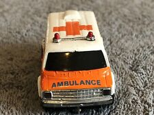 TYCO US1 AMBULANCE SLOT CAR HO SCALE EXCELLENT CONDITION AFX AW LIFELIKE