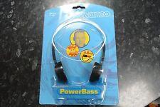 Vivanco Vintage Classic 1980s POWERBASS On Ear Walkman Headphones