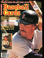 Baseball Cards Magazine November 1987 Wade Boggs jhscd3