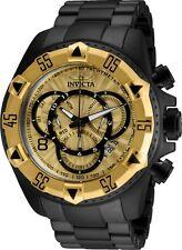 Invicta 24267 Excursion Men's Black/Gold Stainless Steel Strap 52mm Watch