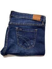 Lee Riders Womens Denim Shorts Size 16 Knee Length Blue