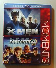 X-Men / fantastic 4  Blu Ray (double feature)2 Disc set