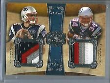 Shane Vereen-Ryan Mallett 2011 Topps Five Star Game Used Jersey Patch #15/15