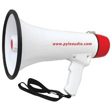 Pyle PMP48IR 40W Professional Megaphone W/ Rechargeable Battery Aux for iPod