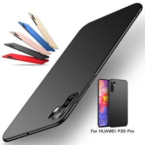 For Huawei P30 Pro P20 P40 Mate 30 Pro Rigid Plastic Ultra Slim Phone Case Cover
