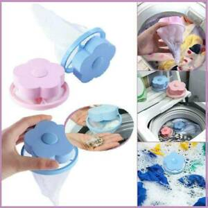 2-Piece Floating Pet Fur Catcher Lint And Pet Laundry Hair Remover PE+Polyester