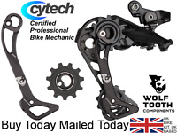Wolf tooth WolfCage Kit Shimano 11 Speed XT R Derailleur Cage Jockey Wheel M8000