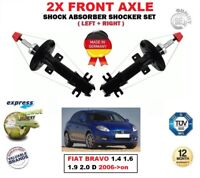 FOR FIAT BRAVO 1.4 1.6 1.9 2.0 D 2006-on 2X FRONT LEFT RIGHT SHOCK ABSORBERS SET