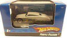 Hot Wheels Purple Passion Grey Diecast Car Nib 1:87 Ho Train Scale