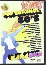 Karaoke - Pop Español 80'S [DVD] (MIRAR CARÁTULA PARA LISTA DE CANCIONES) NUEVO