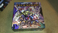 Legendary Marvel Deck Building Game Complete Set 500/560 Cards  Sealed (60 open)