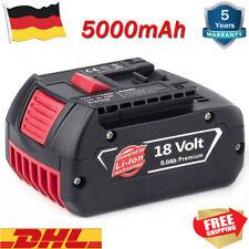 Für Bosch Akku Ersatzakku GBA 18V 5,0 Ah GSR GSB 18 Volt BAT618 BAT609 BAT620 DE