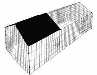Metal Rabbit Run Chicken Small Animal Cage Enclosure Playpen Hutch Guinea Pig