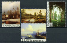 Belarus 2018 MNH Masterpieces Paintings from Museums 4v Set Art Stamps