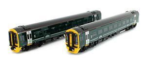 Bachmann OO 31-519 Class 158 2-Car DMU 158766 GWR Green (Firstgroup)