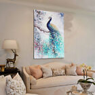 Peacock HD Unframed Canvas Print Peacock Art Painting Picture Wall Home Decor
