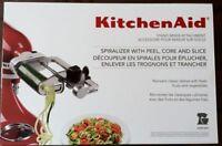 5KSM1APC KitchenAid Spiralizer Attachment with Peel, Core & Slice  IN HEIDELBERG