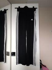 Adidas Womens Trousers Pants Size 10 Black