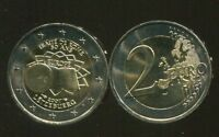 "LUXEMBOURG 2 EURO 2007 ""Treaty of Rome"" UNC COIN"