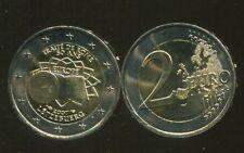 #1235 Luxembourg 2 euro 2007 Treaty of Rome UNC