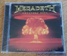 """MEGADETH  """"Greatest Hits""""  Capitol/72438-73929-2-2  NEW    (CD, 2005)"""
