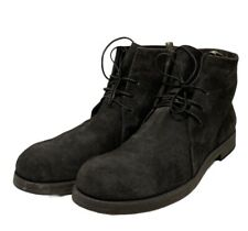 Officine Creative Suede Boots Charcoal Suede Size 45 / 12