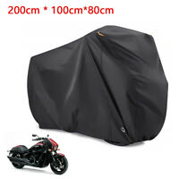 XL Heavy Duty Waterproof Motorcycle Cover Oxford Dustproof Motorbike Shelter